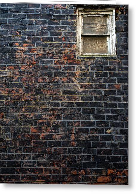 Alley Window Greeting Card