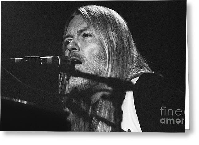 Allman Brothers-gregg-0171 Greeting Card by Gary Gingrich Galleries