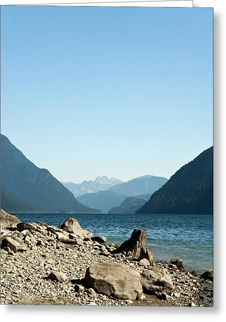 Allouette Lake Greeting Card by Emilio Lovisa