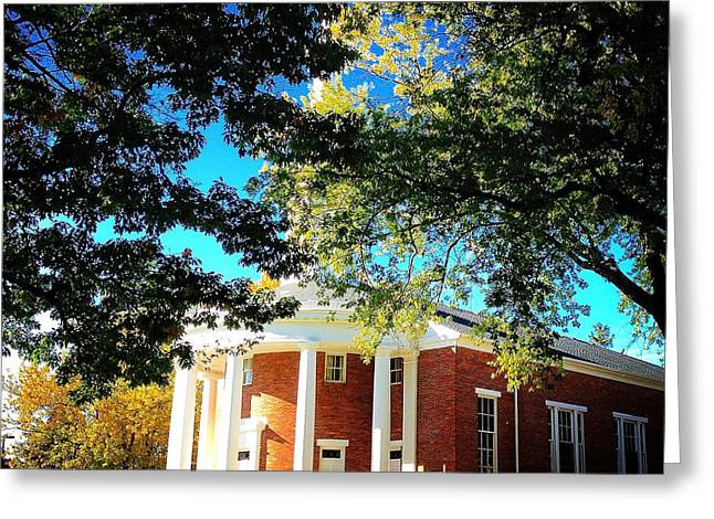 Alma College Dunning Memorial Chapel Greeting Card
