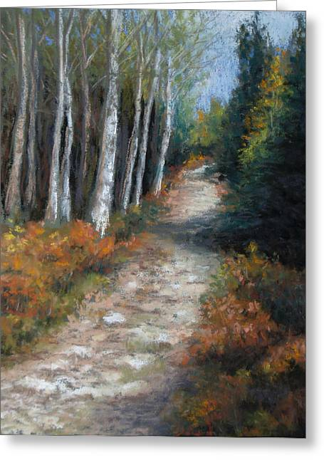 Almost Autumn Greeting Card by Susan Jenkins