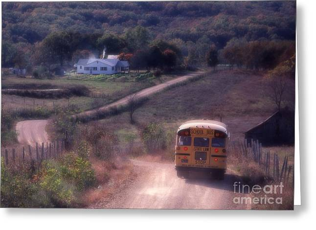 Almost Home Greeting Card by Garry McMichael