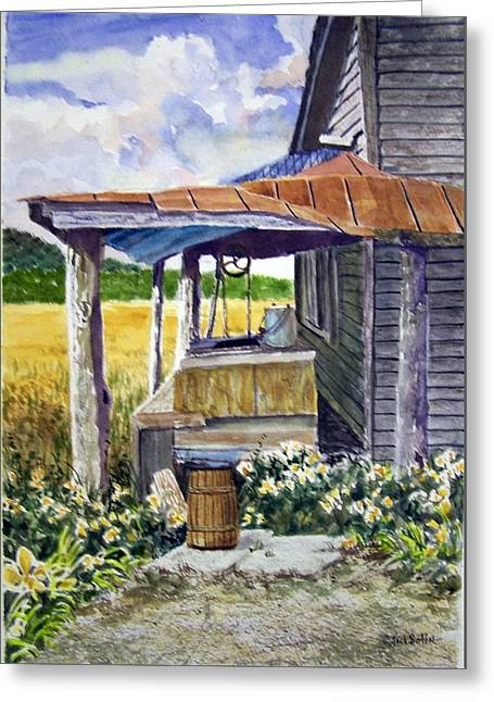 Almost Indoor Plumbing  Sold Greeting Card