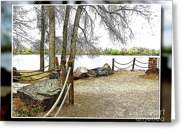 Almost Spring At Lafayette Lake Greeting Card