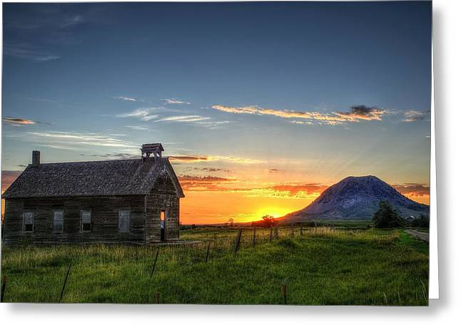Almost Sunrise Greeting Card