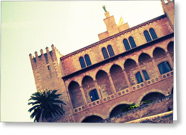 Almudaina Palace Greeting Card by Eye Contact