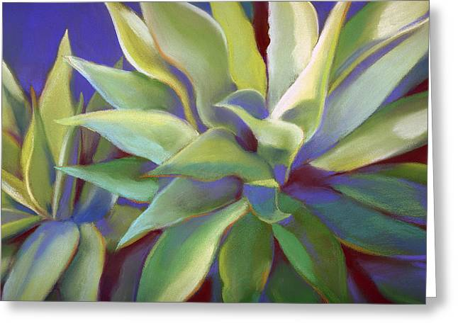 Aloe Plants In Big Sur Greeting Card