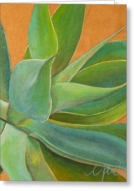 Tropical Plants Greeting Cards - Aloha 1 Greeting Card by Athena  Mantle