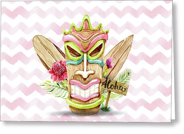 Aloha, Baby Greeting Card