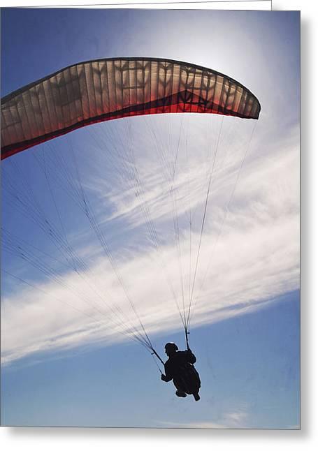 Alone With The Wind Greeting Card by Wedigo Ferchland