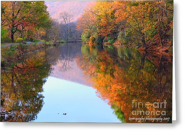Along These Autumn Days Greeting Card