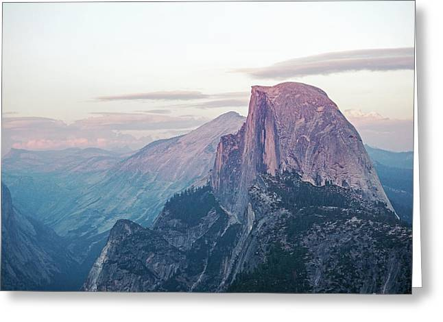 Alpenglow Greeting Card