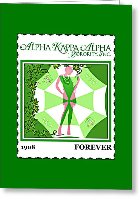 Alpha Kappa Alpha Greeting Card
