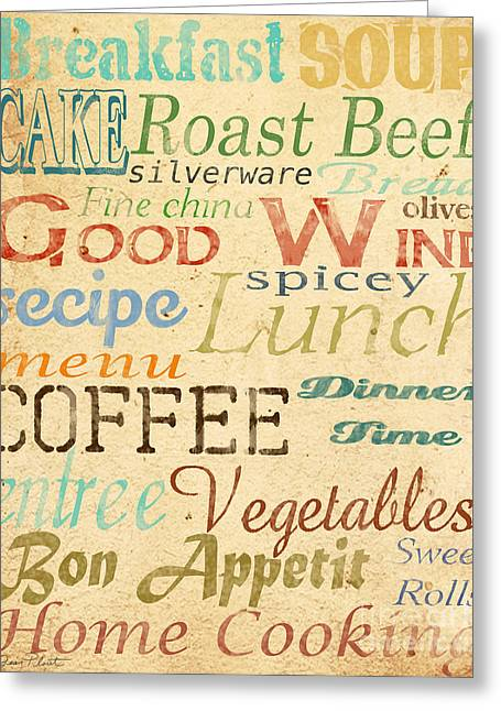 Alphabet Soup-a Greeting Card