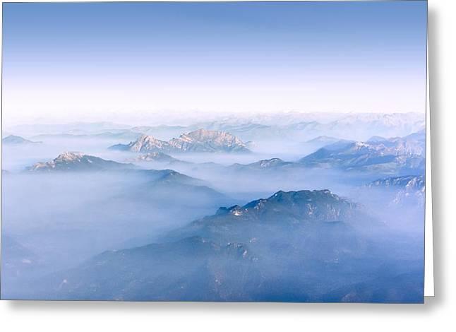 Alpine Islands Greeting Card