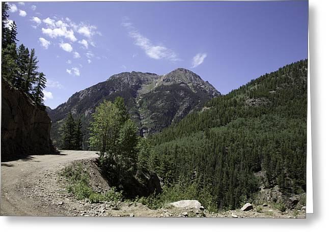 Alpine Loop Trail Greeting Card