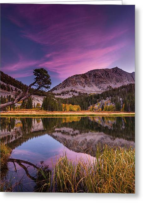 Alpine Reflection Greeting Card