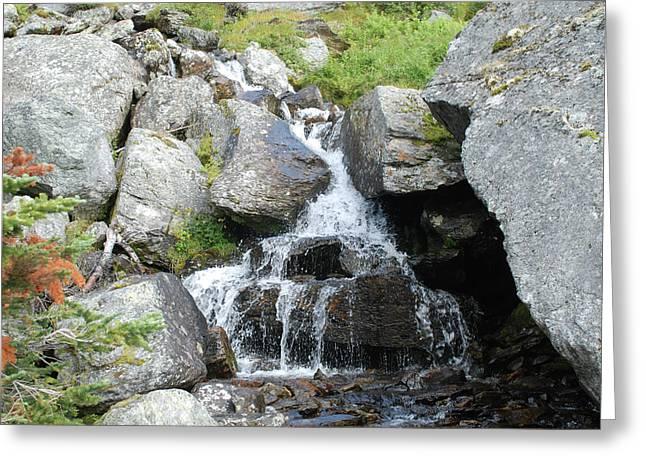 Alpine Waterworks Greeting Card