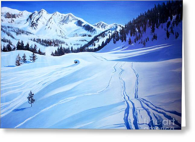 Alps Greeting Card