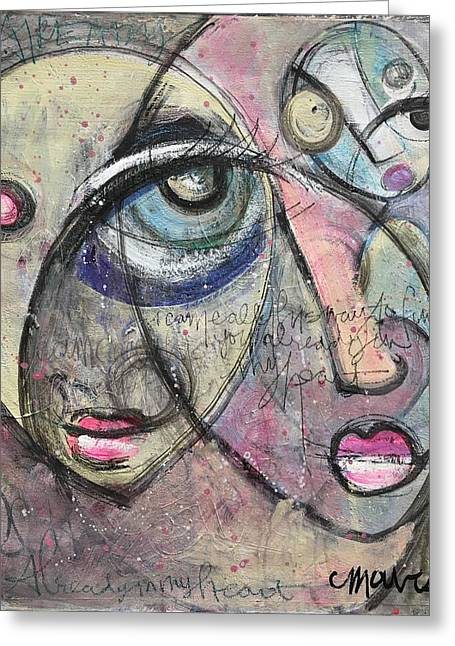 Already In My Heart Greeting Card by Laurie Maves ART