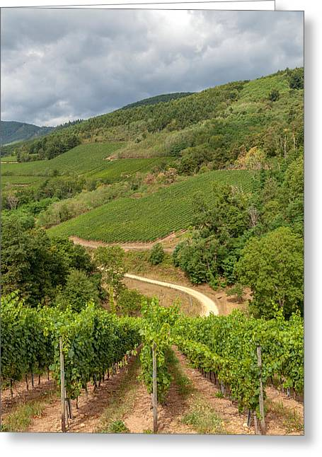 Alsatian Hills Greeting Card