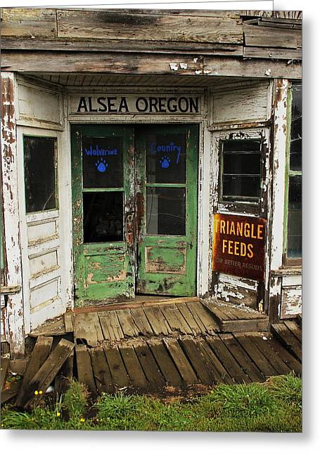 Alsea Retro #5155 Greeting Card