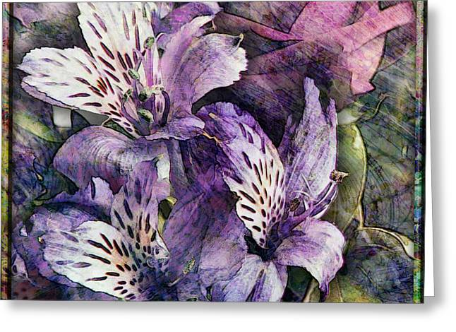 Alstroemeria Greeting Card