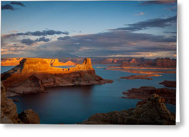 Alstrom Point Lake Powell Greeting Card