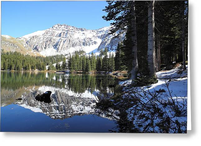 Alta Lakes Greeting Card by Eric Glaser