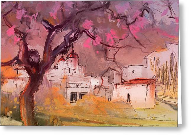 Altea La Vieja In Spain 18 Greeting Card by Miki De Goodaboom