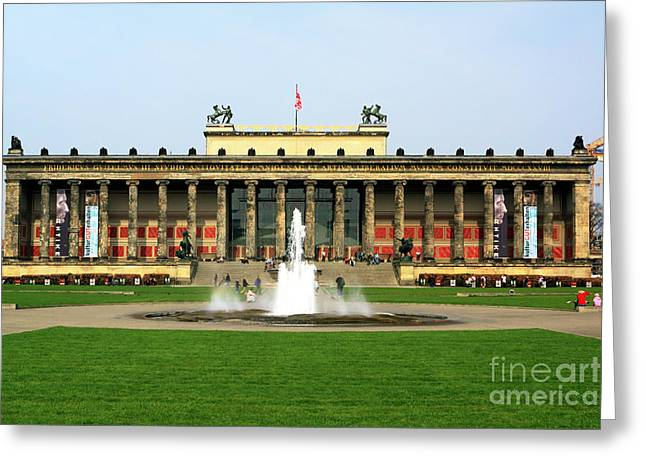 Altes Museum In Berlin Greeting Card