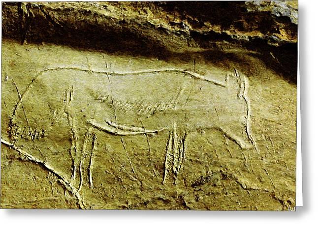 Altxerri Cave Fox 2 Greeting Card