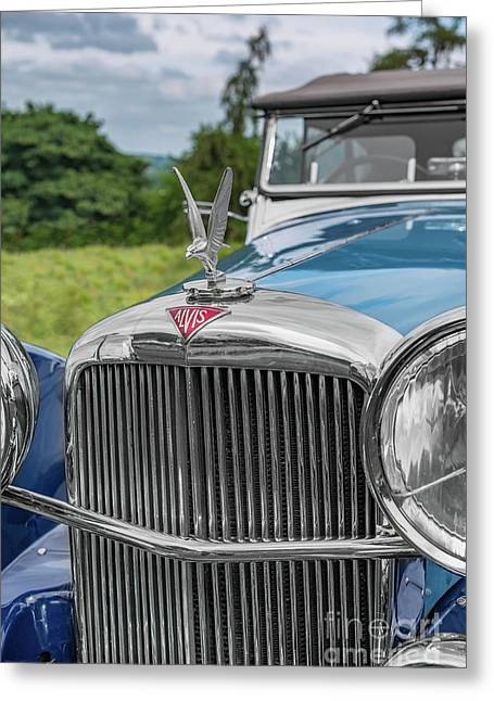 Alvis Speed 25 Greeting Card by Adrian Evans