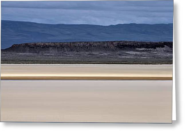 Alvord Panoramic 2 Greeting Card by Leland D Howard