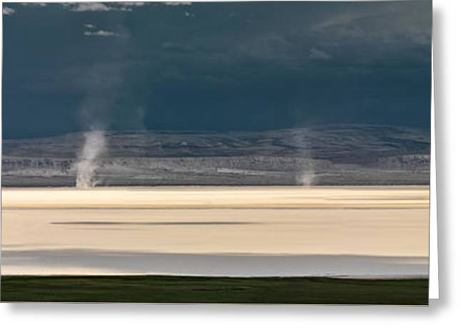 Alvord Panoramic 4 Greeting Card by Leland D Howard