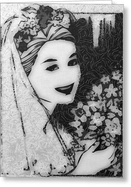 Always A Bride Greeting Card by Mario Carini