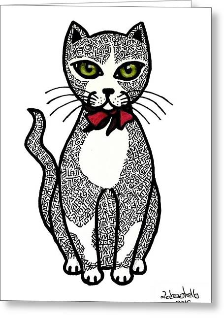 Always Looking For A Lovely Kitten Greeting Card