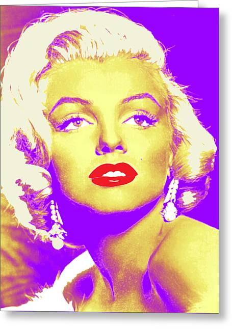 Always Marilyn Greeting Card by Joy McKenzie