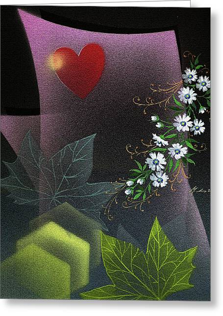 Always Spring For Love Greeting Card