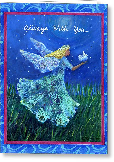 Always With You Greeting Card by Gail McClure