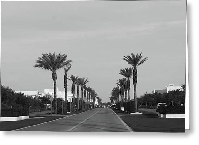 Alys Beach Entrance Greeting Card by Megan Cohen