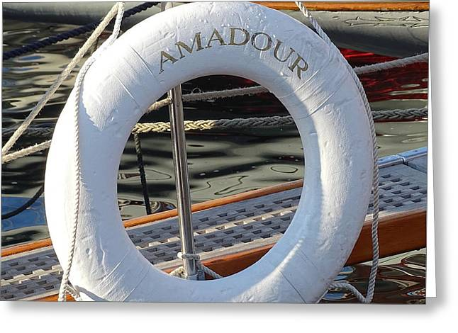 Amadour 1938 Greeting Card by Lainie Wrightson