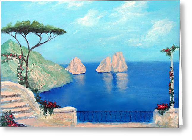 Amalfi  Beauty Greeting Card