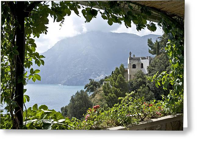 Amalfi Coast Greeting Card by JR Harke Photography