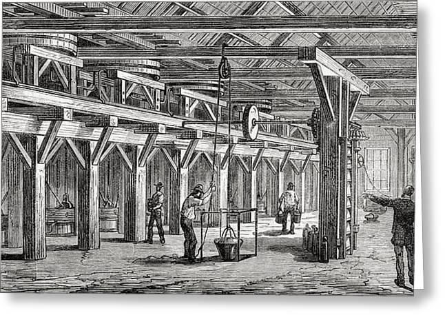 Amalgamation Mills Used To Extract Greeting Card