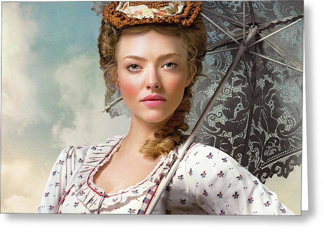 Amanda Seyfried In A Million Ways To Die In The West Greeting Card
