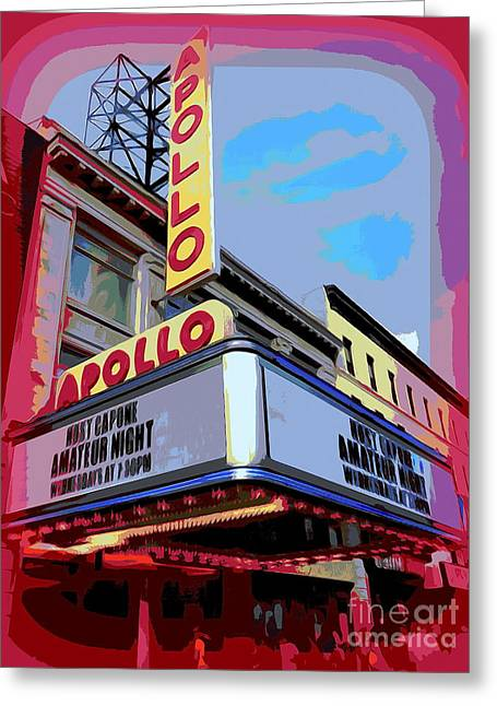 Amateur Night At The Apollo Greeting Card by Ed Weidman