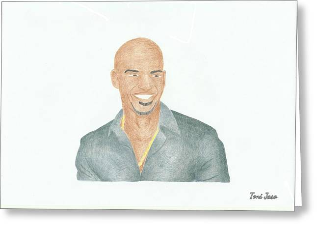 Amaury Nolasco Greeting Card
