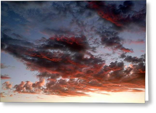Spectacular Clouds  Greeting Card