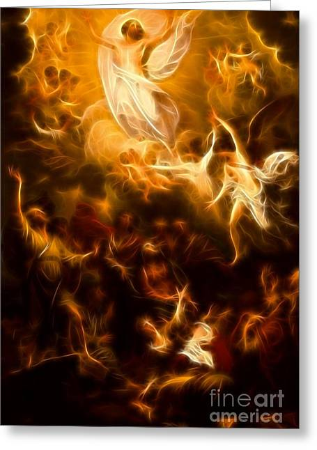 Amazing Jesus Resurrection Greeting Card